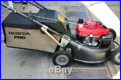 Honda Hrh 536 Pro Lawnmower Used Once Only Hard To Tell From A New Machine