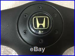 Honda Integra DC2 Genuine Steering Wheel MOMO Very Rare Removed from a new car