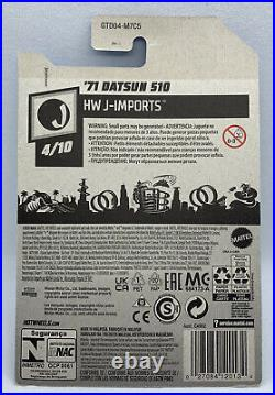 Hot Wheels 2021 Super Treasure Hunt 71 Datsun 510 In Hand Ships From CA
