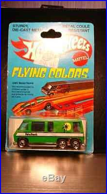 Hot Wheels Flying Colors GMC Motor home from 1979 Very Rare