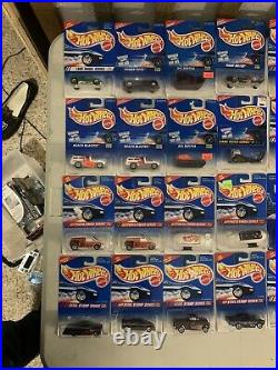 Hot Wheels Lot Of (120) Blue Cards From 1995-1998 Great Condition