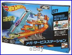 Hot Wheels MOTORIZED MEGA GARAGE play kit BGJ18 Mattel from Japan F/S New