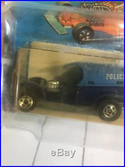Hot Wheels Paddy Wagon French Sample Card From The Larry Wood Collection