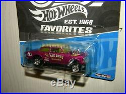 Hot Wheels Rlc 55 Chevy Bel Air Gasser Lot Of 6 Plus 4 Extra Cars From 5 Pack