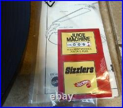 Hot Wheels Sizzlers Giant O Fat Track Race Set From 2006 NOS B
