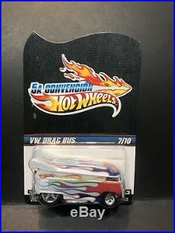 Hot Wheels VW Drag Bus From 2012 Mexico Convention 7 Of 10! Extremely Rare