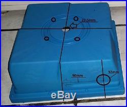 Hydro PMA Generator Base Box and Nozzle for Pelton / Turgo Wheel from Motenergy