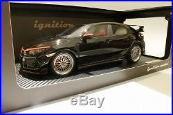 Ignition Model IG1448 Honda CIVIC FK8 TYPE R Black 1/18 BB-Wheel from Japan JDM