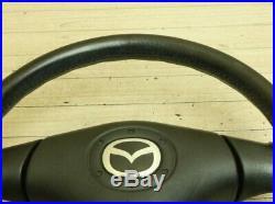 JDM MAZDA OEM MIATA ROADSTER NB6C NB8C MX-5 NARDI Steering Wheel from Japan EMS