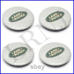 Land Rover Lr2 Lr3 Lr4 P38 D2 Rr L322 Rr Sport L320 Wheel Center Cap Set Of 4