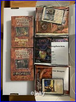 Lot Of Wheel Of Time CCG-Both Starters And Boosters From All 3 Sets (Sealed)