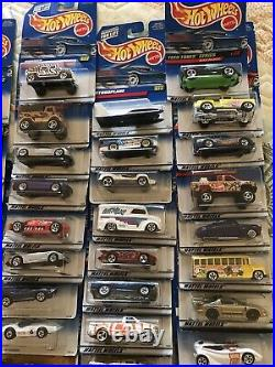 Lot of 119 Hot Wheels cars +1 Gift Pack from My Collection From the 80s and 90s