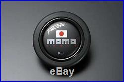 MOMO 90mm Deep Cone Steering Wheel 34.8 Black Top FULL SPEED 348DBK From Japan