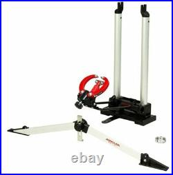 Minoura FT-1 Wheel Truing Stand and Dishing Tool Combo, Silver From Japan