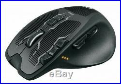 NEW Logicool G700s Rechargeable Gaming Mouse Black Wheel Button From Japan