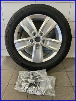 New Set Of Volkswagen 17 Davenport alloy wheels Continental Tyres from New T32