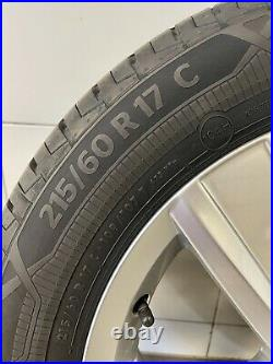 New Volkswagen 17 inch Davenport alloy wheels And Tyres from New T32