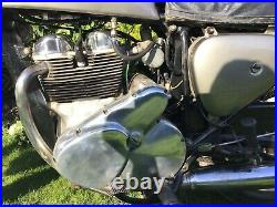 Norton Electra 1963 5900 Miles From New Working Electric Start Stainless Wheels