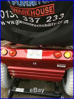 Pegasus 4 wheel mobility scooter red Pick up from Haddington or Edinburgh
