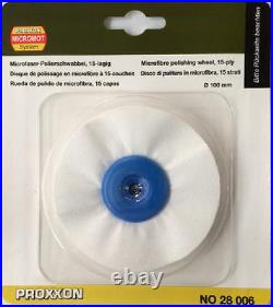 Proxxon micromot microfibre polishing wheel 100mm 28006 / Direct from RDGTools