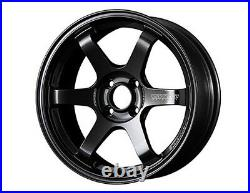 RAYS TE37 SONIC Wheels rims 15x6.0J +45 4x100 set of 4 Gunmetal from JAPAN
