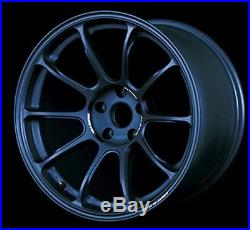 RAYS VOLK RACING ZE40 18x9.5J +22 Matte Blue Gunmetal set of 4 from JAPAN