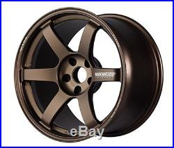RAYS VOLK TE37 SAGA Forged Wheels Bronze 18x9.0J +45 5x114.3 set of 4 from JAPAN