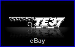 RAYS VOLK TE37 SAGA Forged Wheels Gunmetal 18x7.5J +48 set of 4 from JAPAN