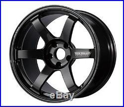 RAYS VOLK TE37 SAGA Forged Wheels Gunmetal 18x8.0J +50 for GOLF5/6/7 from JAPAN