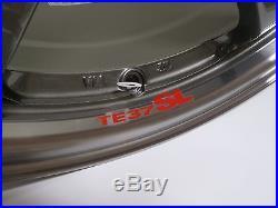 RAYS VOLKRACING TE37SL Forged Wheels 18x9.5J +22 Pressed Graphite from JAPAN