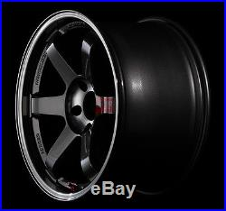 RAYS VOLKRACING TE37SL Forged Wheels 9.0J-18 +45 5x114.3 set of 4 from JAPAN
