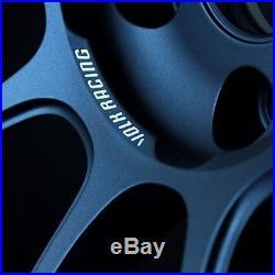 RAYS VOLKRACING ZE40 19x8.5J +44 5x112 Matt Blue Gunmetal set of 4 from JAPAN