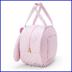 SANRIO My Melody face shape boston bag wheel bag New from Japan