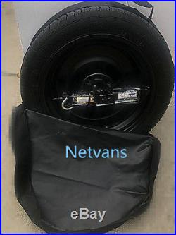SPARE WHEEL spare 17 FOR MERCEDES C FROM 2014 CAR JACK KEY AND BAG