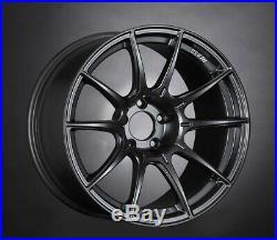 SSR GT X01 17x9.0 5x100 +38 Flat Black from Japan 4 rims JDM Wheels