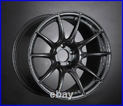 SSR GT X01 19x10.5 5x114.3 +22 Flat Black from Japan 4 rims JDM Wheels