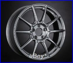 SSR GT X01 19x8.5J 5x120 +38 Dark Silver from Japan 1 rim price JDM Wheel