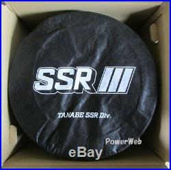 SSR GT X01 19x9.5 5x114.3 +35 Flat Black from Japan 4 rims JDM Wheels