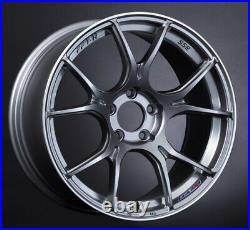 SSR GT X02 18x9.5 5x114.3 +45 +22 Dark Silver from Japan 4 rims JDM Wheels