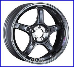 SSR GT X03 18x8.0 5x112 +45 Machined Graphite GM from Japan 4 rims JDM Wheels