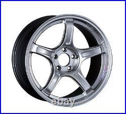 SSR GT X03 18x9.5 5x100 +38 Chrome Silver from Japan 4 rims JDM Wheels
