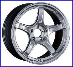 SSR GT X03 19x8.5J 5x114.3 +38 Chrome Silver from Japan 1 rim price JDM Wheel