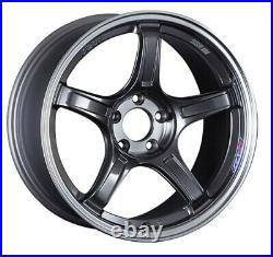 SSR GT X03 19x9.5 5x114.3 +38 Machined Graphite GM from Japan 4 rims JDM Wheels
