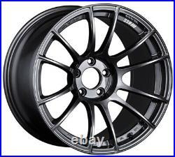 SSR GT X04 18x10.5 5x114.3 +15 Dark Gunmetal from Japan 4 rims JDM Wheels