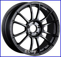 SSR GT X04 18x8.5 5x114.3 +44 Dark Gunmetal from Japan 4 rims JDM Wheels