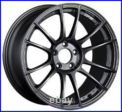 SSR GT X04 18x9.5 5x114.3 +40 +22 Dark Gunmetal from Japan 4 rims JDM Wheels