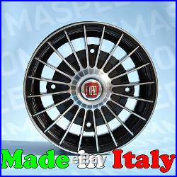 Set 4 Alloy wheels for Fiat 500 period from 12 4x190 OLD 500 OLD 612 BP