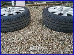 Set of 3 Alloy Wheels Alloys Rims 17 and new tyres from Alfa Romeo Giulietta