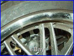 Set of 4 Wheels & Brand New Tyres From 2004 Mercedes CL600 19 Inch