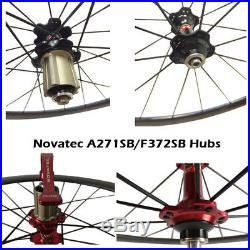 Ship From UK 50mm 60mm Carbon Wheels Clincher Tubular Road Bike Bicycle Wheel